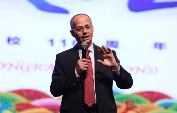 "Professor Omar M. Yaghi Visited Lanzhou University and Lectured for ""Centurial Lanzhou University, Renown Celebrity Lectures"""